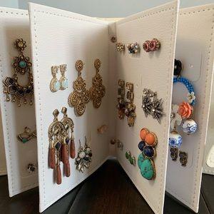 Earring Storage Binder - Jewelry Organizer